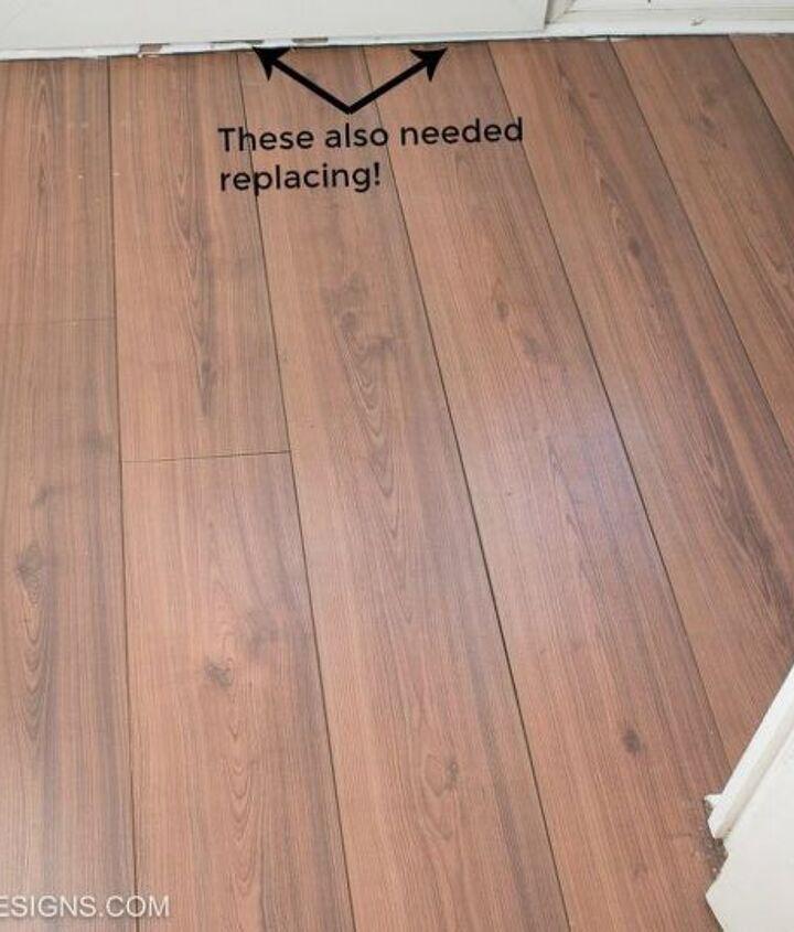 wallpapering a floor