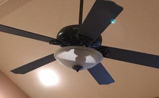 Appliances ceiling fans in make over hometalk painted ceiling fan instant drama melissa osborne aloadofball Images
