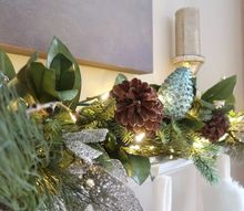 a beautiful stress free christmas mantel in under 30 minutes