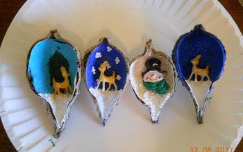 Milkweed Pod Ornaments