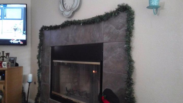 q i want to put a mantel over my fireplace