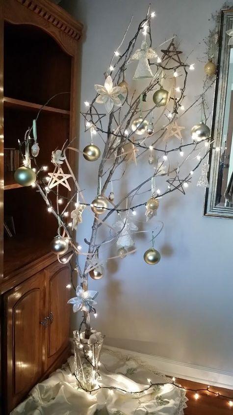 christmas decor diy christmas tree branch