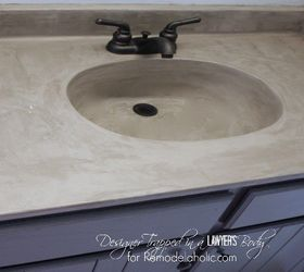 The Cost Is About $20 For The Finish And More For The Sealer, Etc. Lots Of  Videos And Info On Concrete Sink Finishes. The Other Option Would Be To  Replace ...