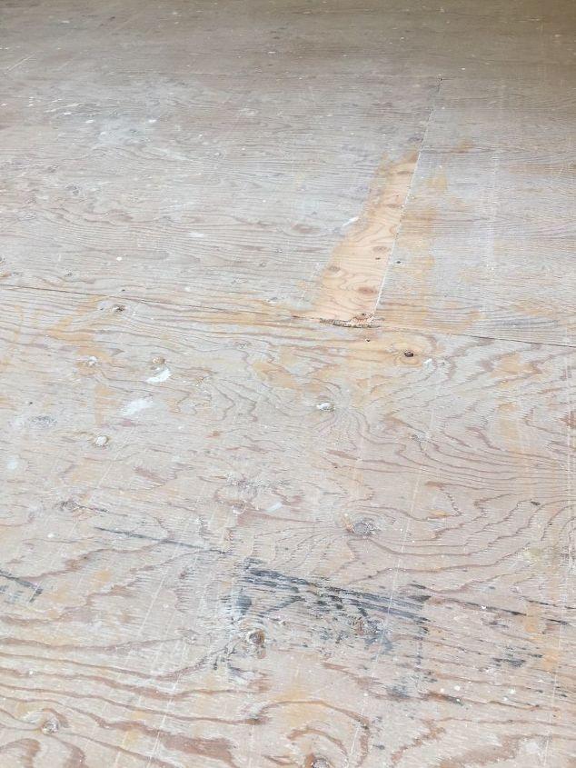 q can i put luxury vinyl plank over plywood