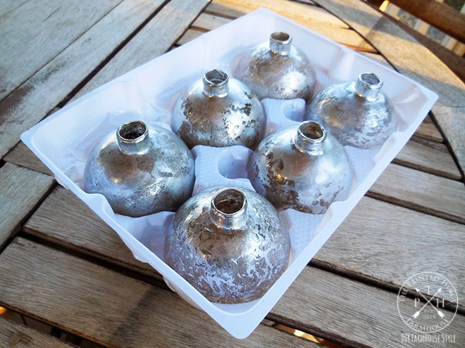 diy mercury glass christmas ornaments