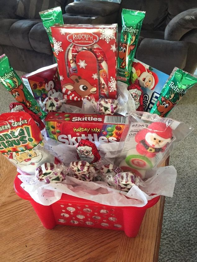 dollar store candy bouquet perfect gift for anyone - Christmas Candy Bouquet