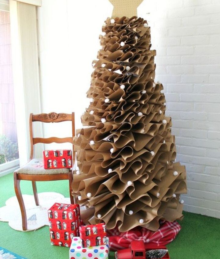 s the wonderful things you can make with paper, Full Size Brown Paper Christmas