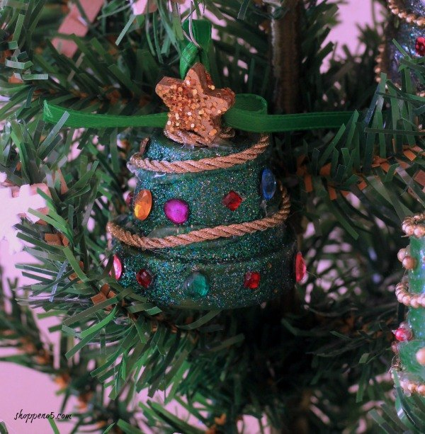 s 25 adorable ornament ideas to get you super excited for christmas, Make a Cute Tree Ornament from a Pot