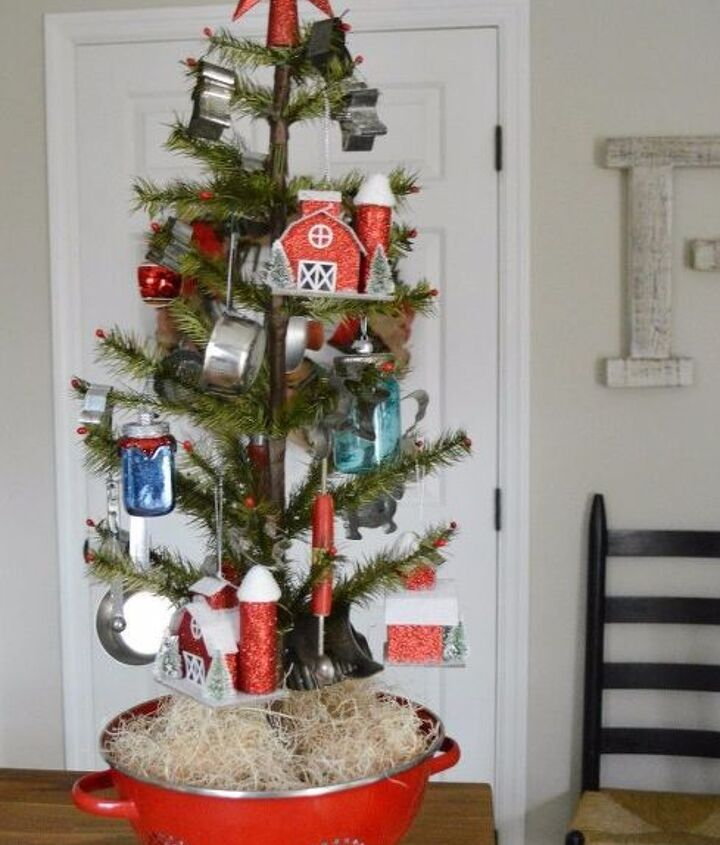 a christmas kitchen tree the perfect recipe for holiday decor