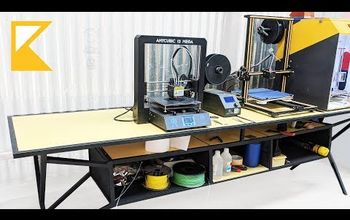 3D Printing Station // How to Build