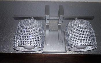 Glam Bathroom Lights