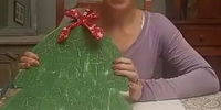christmas tree crackle