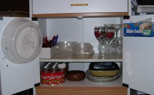 get more storage out of a microwave cart