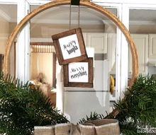embroidery hoop holiday wreath