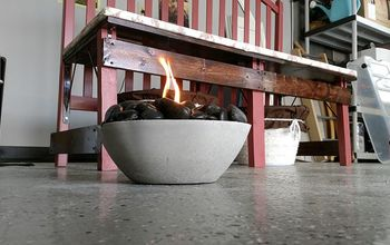 cement fire bowl