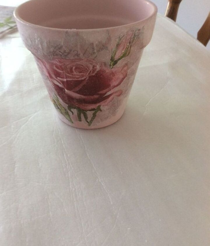 decoupage pot