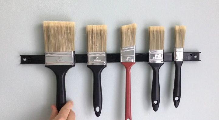 s the newest diy space saving storage ideas to keep your home organized, Multipurpose Magnetic Strip