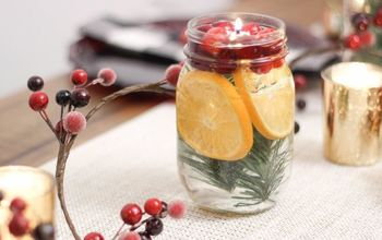DIY HOLIDAY OIL CANDLES