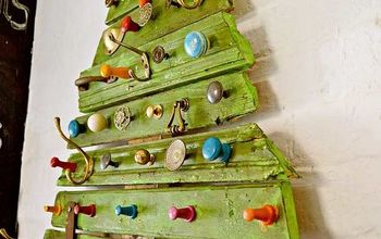 Amazing Scrap Wood Christmas Tree