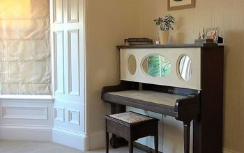 Re-purpose an Old Piano / DIY Dressing Table
