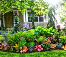 q the art of landscaping in small gardens