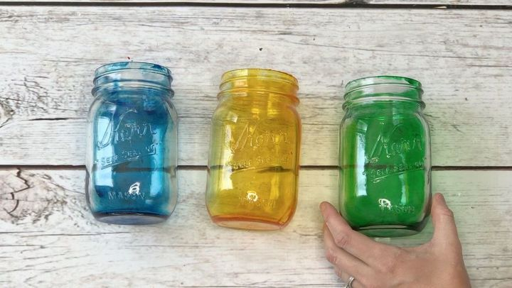 s the 25 most viewed mason jar projects on hometalk in 2017, How To Make Tinted Mason Jars