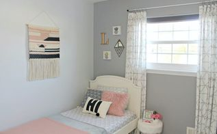 tiny bedroom makeover blank slate to hipster chic