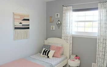 Bedroom Makeover - Blank Slate to Hipster Chic!