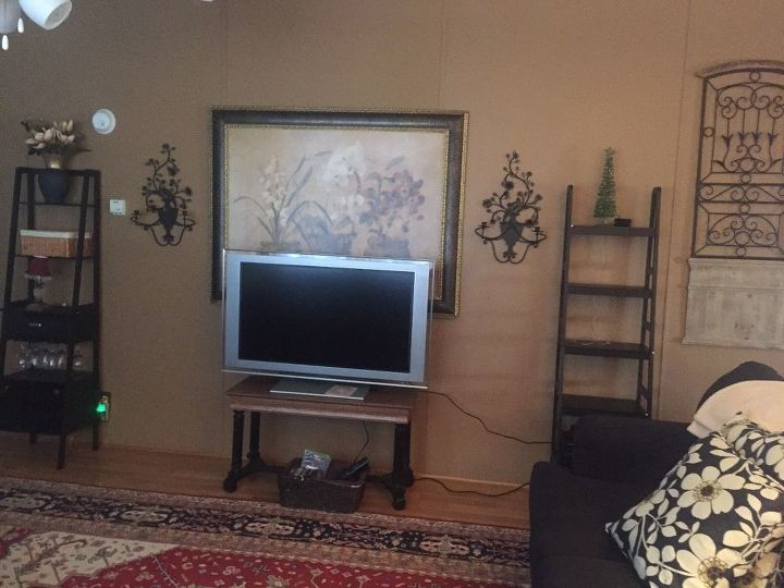 q i know it s incomplete however minus the tv and the black shelf do i