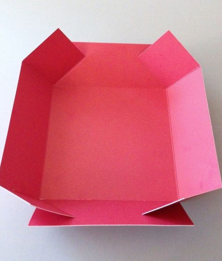 how to make a christmas explosion card box