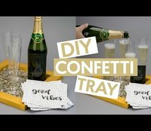 diy new years tray