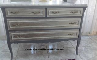 how to use silver wax on painted furniture, AFTER with Silver Wax