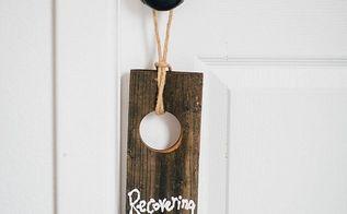 celebrating recovering door knob hangers