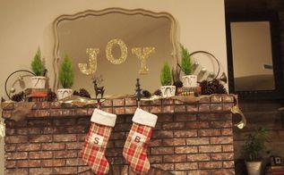 joy fireplace mantle