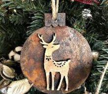 diy rust ic ornaments