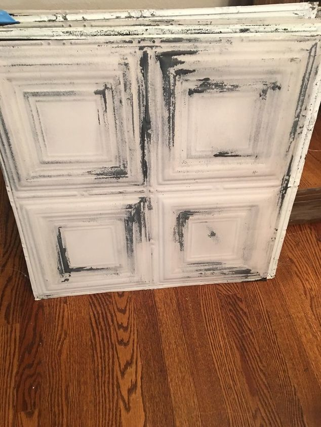 q tin ceiling tiles for a backsplash or artwork