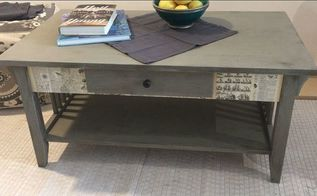shabby chic coffee table makeover
