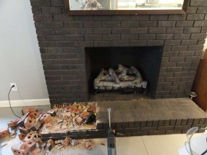 Dismantling the hearth