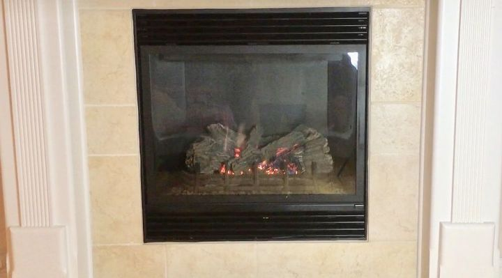 clean your gas fireplace