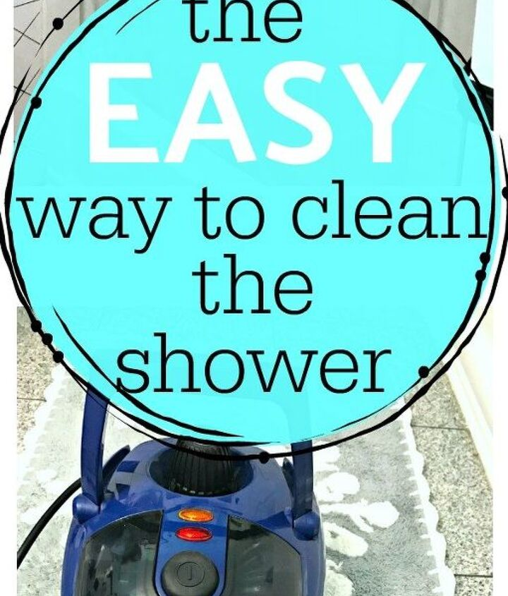 how to clean your shower the easy way