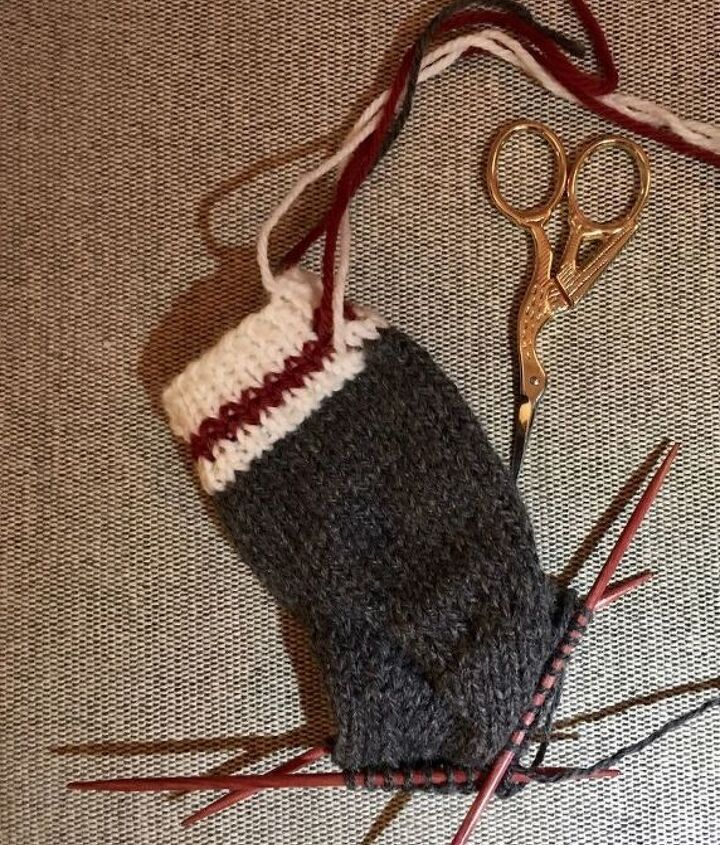 Making Baby Socks