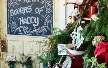 Decking The Halls in The Potting Shed