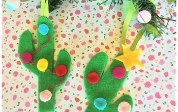don t be a prick diy felt cactus christmas tree ornaments