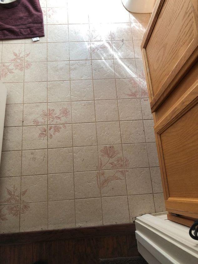 Can U Put Tile Directly Over Linoleum Hometalk - What do you put under tile floor