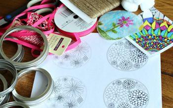 Mason Jar Lid Suncatchers: Cute DIY Gifts Kids Can Make