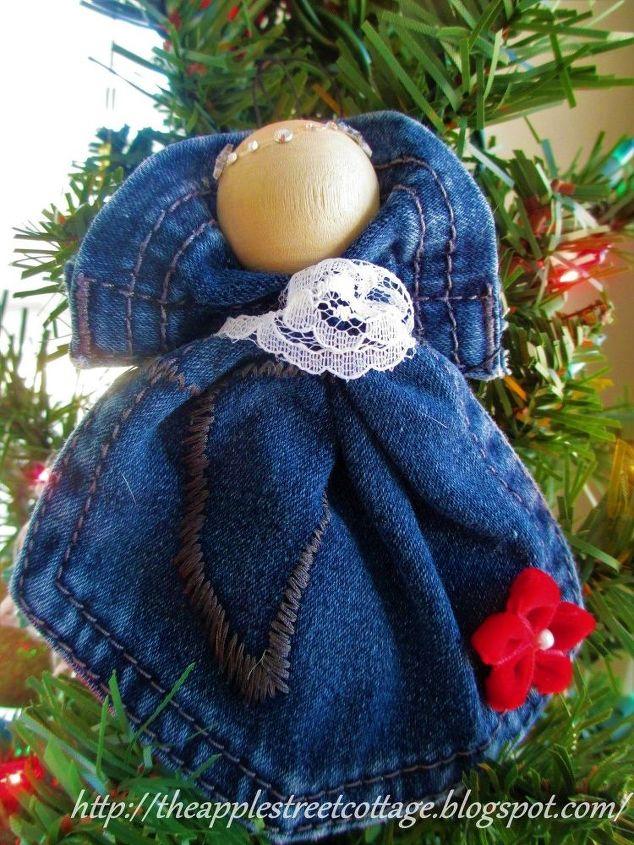 pocket angel ornament