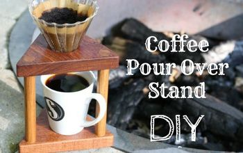 make a coffee pour over stand
