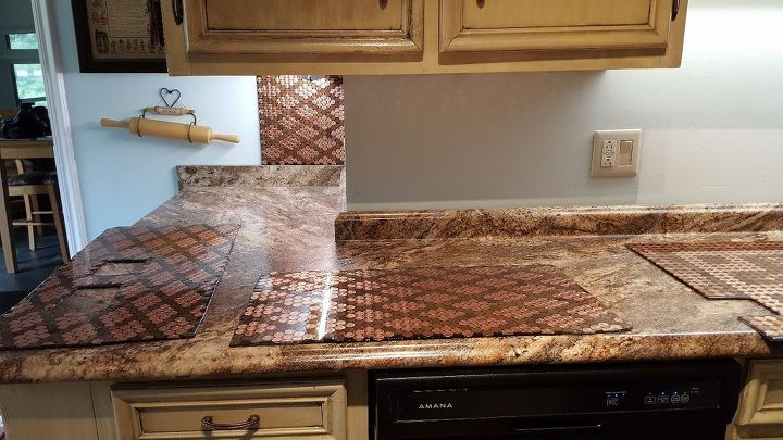 penny backsplash - Penny Backsplash Model