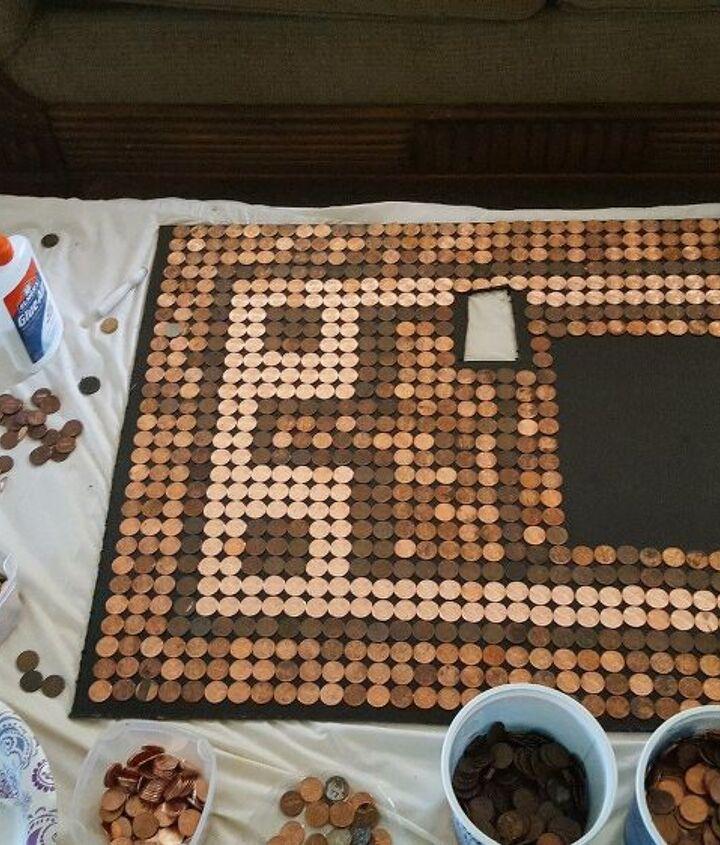 penny backsplash