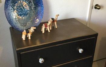 Dresser Redux in Black and Brass